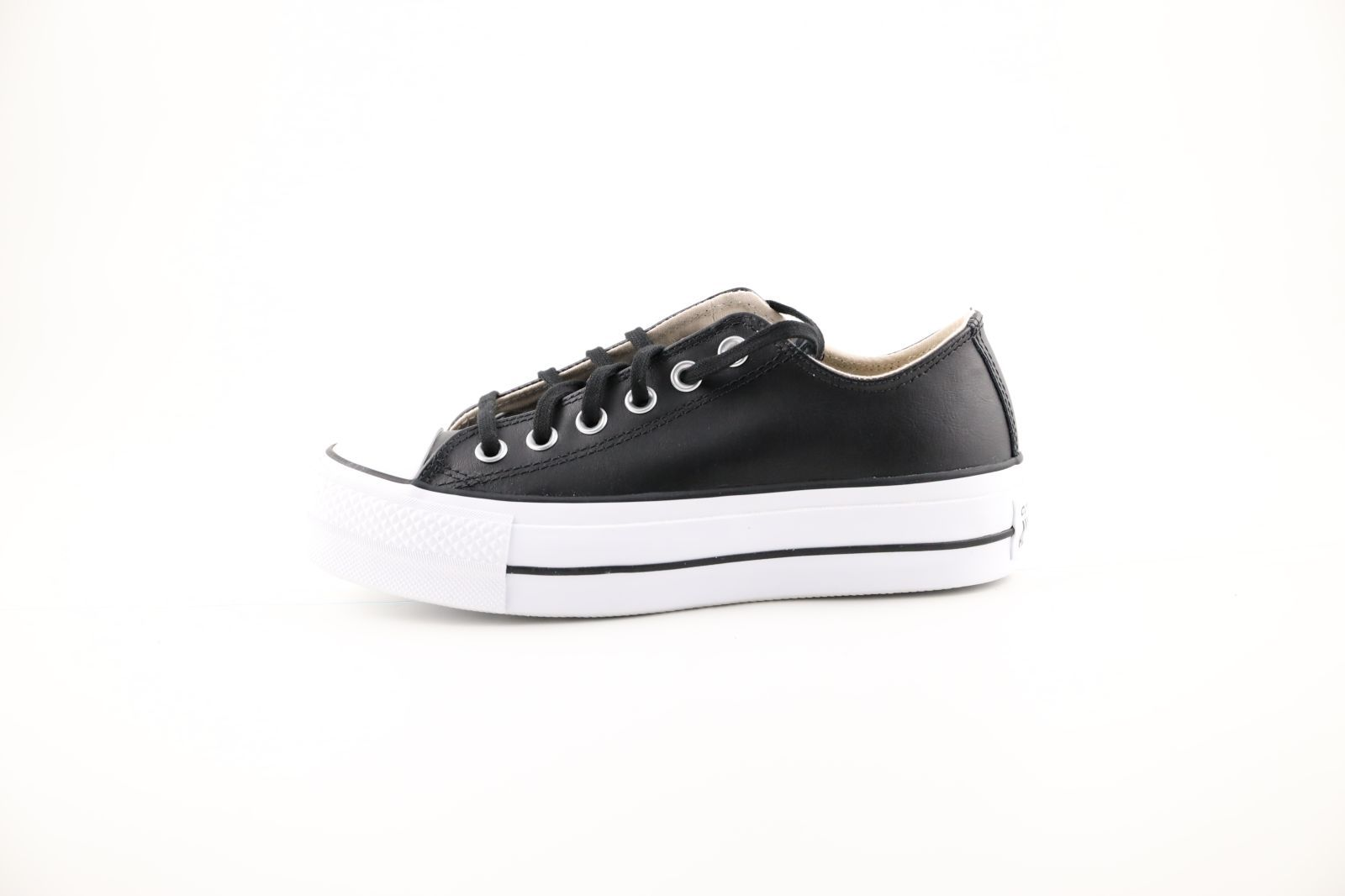 Converse Basket Noir dames (All Star Lift Clean  - 561681C) - Marques à Suivre