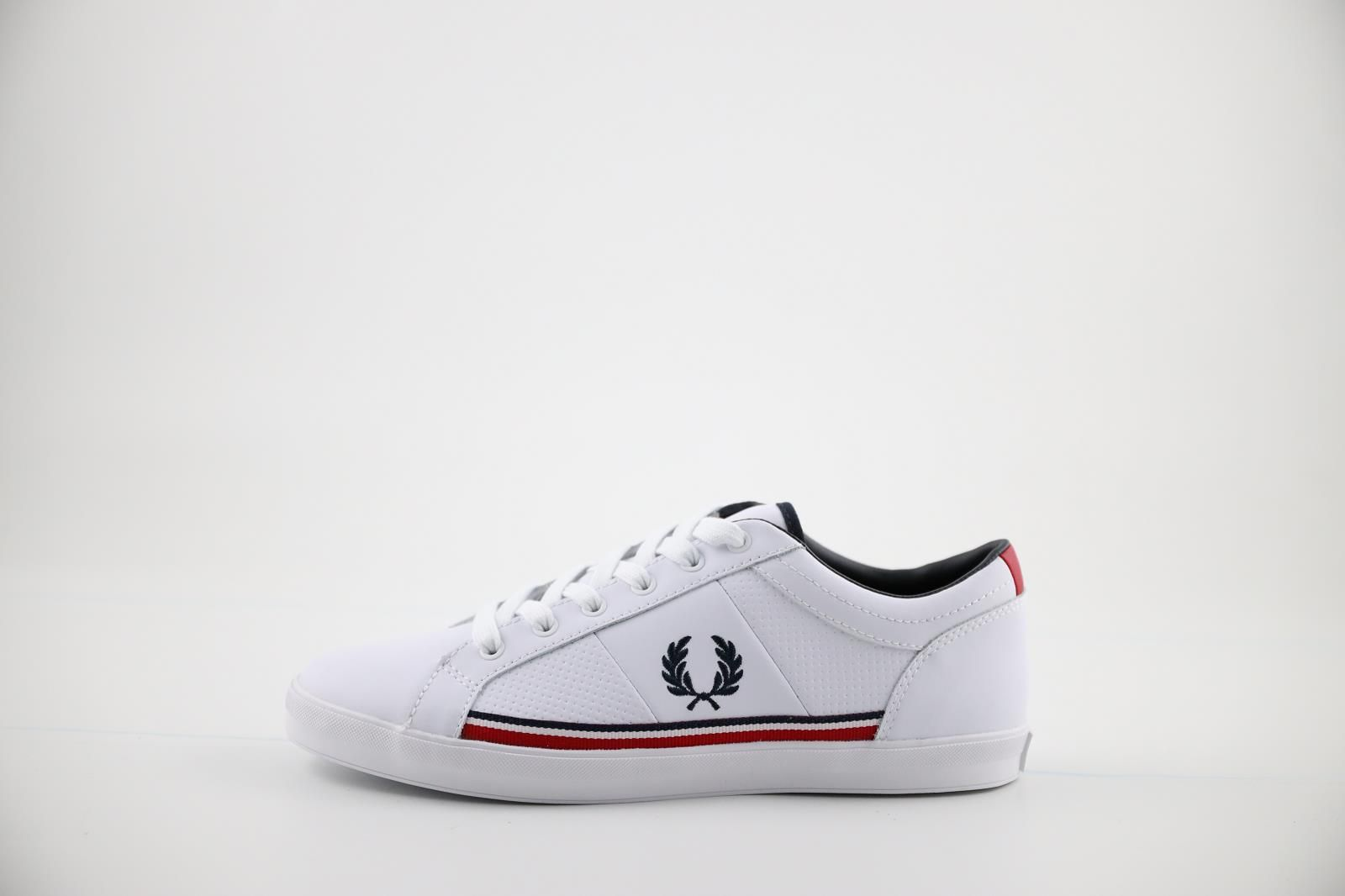 Fred Perry Sneackers Blanc hommes (Komi - B7114) - Marques à Suivre