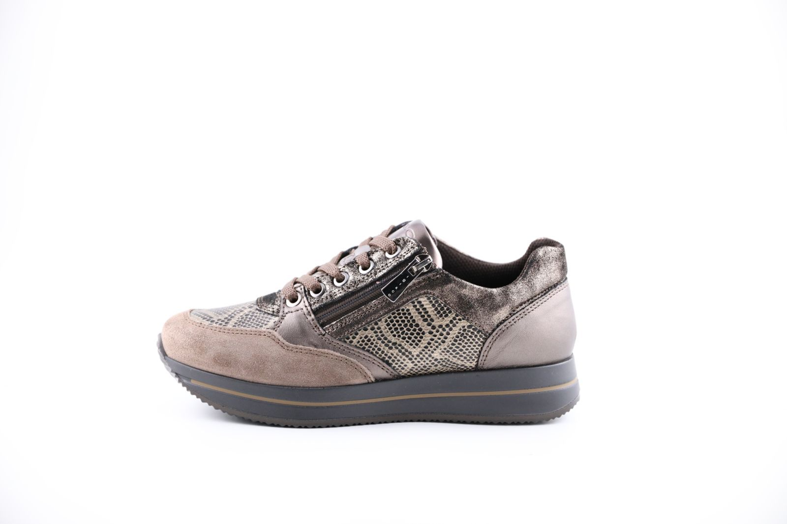 Igi & Co Sneackers Taupe/Bronze dames (Kuga - 6165011) - Marques à Suivre