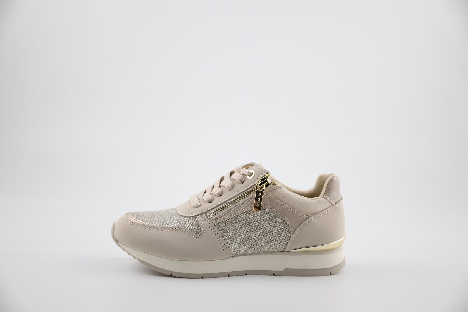 Tamaris Sneackers Beige dames (Phycy - 23603-26) - Marques à Suivre